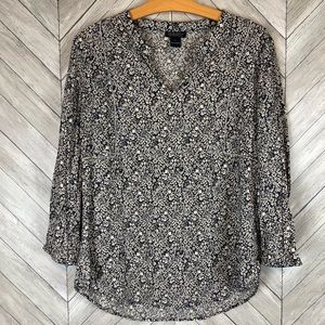 Lucky Brand Tunic Top Size Large